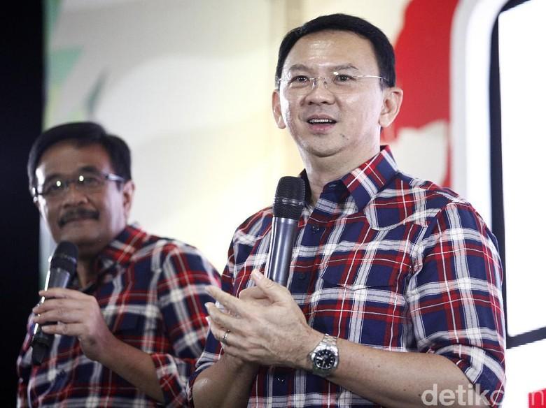 LSI Denny JA: Tingkat Kepuasan terhadap Ahok-Djarot Mencapai 73%