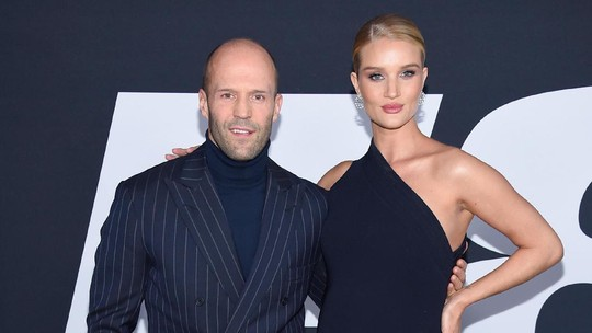 Mesranya Jason Statham dan Rosie Huntington-Whiteley