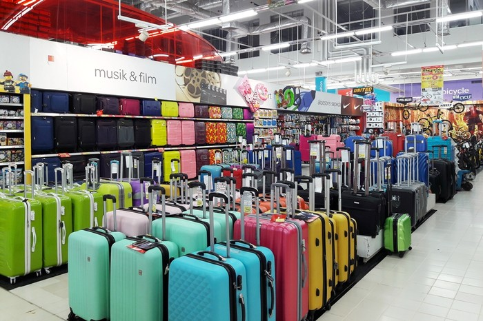 Berburu Koper Diskon Hingga 70% di Transmart dan Carrefour