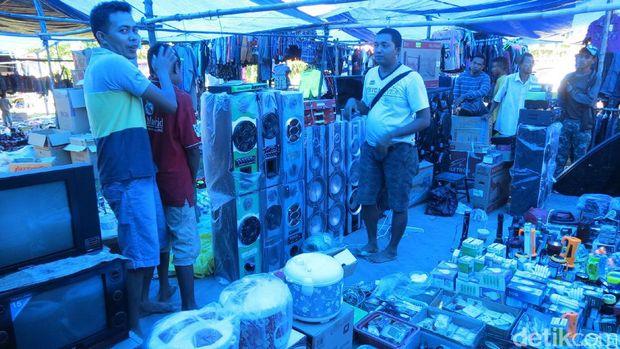Penjual alat elektronik (Fitraya/detikTravel)