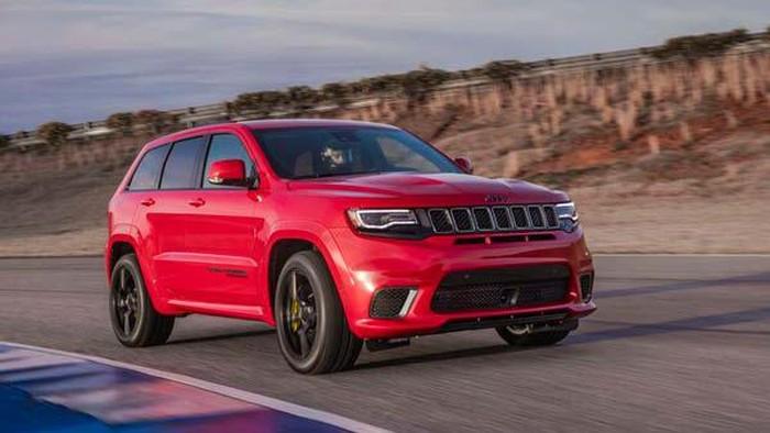 Jeep Grand Cherokee Trackhawk jadi SUV Tercepat di dunia saat ini.