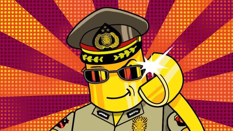 Selfi dengan Mayat Begal: Wajah Represif Polisi Kita