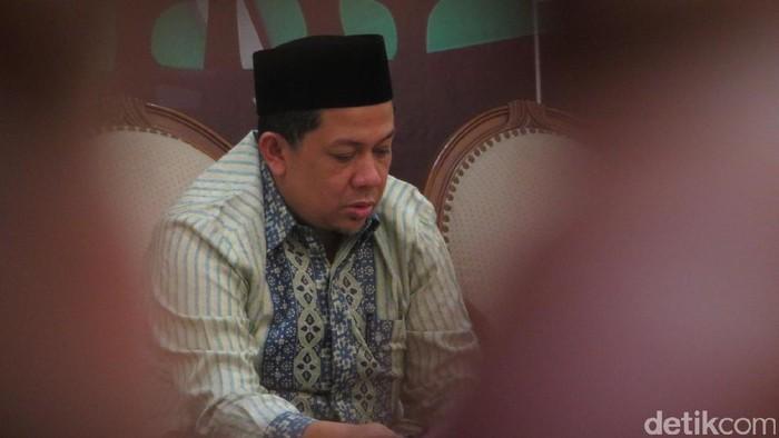 Fahri Hamzah dan surat keberatan Fraksi Golkar atas pencekalan Setya Novanto oleh KPK, Selasa (11/4/2017)