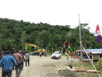 Perbatasan RI-Papua Nugini Terlistriki 24 Jam Mulai 2018