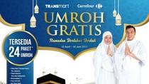 Umroh Gratis Jadi Program Transmart dan Carrefour Tahun 2017