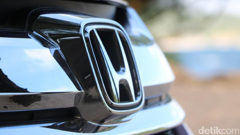 Logo Honda Foto: Dadan Kuswaraharja