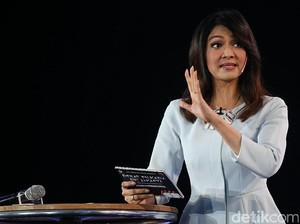 Ira Koesno Kembali Tampil Memikat di Debat Final Pilgub DKI