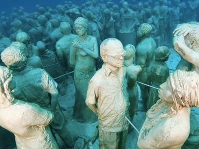 Ayo Menyelam ke Museum Bawah Laut di Meksiko dan Spanyol