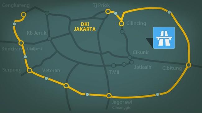 Lingkar Luar Jakarta Dikelilingi Tol (Lagi) Akhir Tahun Ini