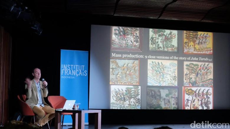 Peneliti Prancis Kepincut Sejarah Lukisan Kaca Jawa