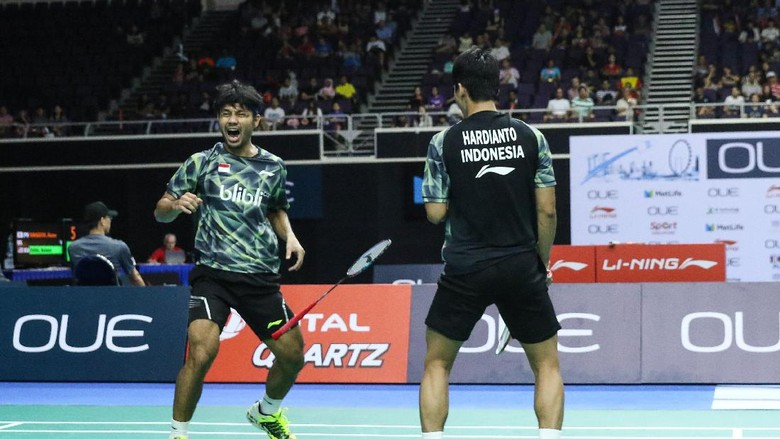 Kalahkan Unggulan Dua Malaysia, Berry/Hardianto Tembus Semifinal