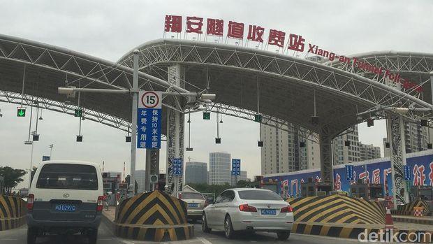 Kecamatan di China ini Tersambung Terowongan Bawah Laut 8,7 Km