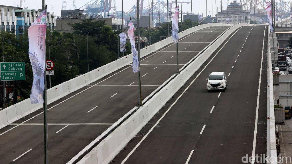 4 Tahun Jokowi-JK, Panjang Jalan Tol Bertambah 423,17 Km