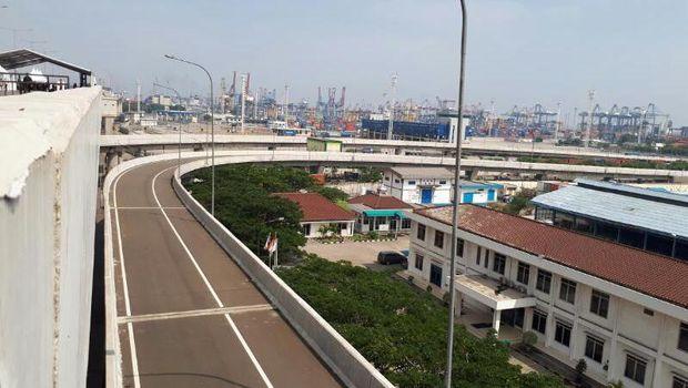 Jalan Tol Akses Tanjung Priok Dikelola Hutama Karya, Konsesi 40 Tahun