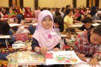 Wow! 10 Ribu Anak Adu Gambar Adit Sopo Jarwo di Trans Studio Bandung