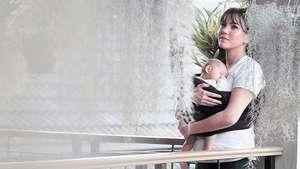 Perut Hamil 5 Bulan Alice Norin