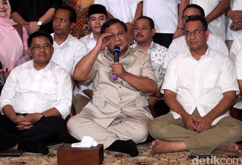 Prabowo: Kalau Anies-Sandi Korupsi Saya yang Pertama Turunkan Mereka