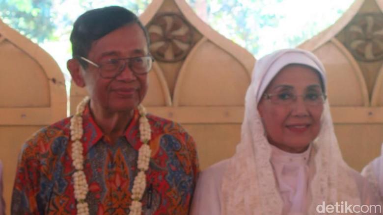 Berlanjut, Nani Widjaja Gelar Resepsi di Keraton Kasepuhan Cirebon