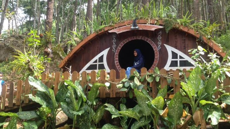 Foto: Rumah Hobbit di Yogyakarta, destinasi wisata baru! (Pokdarwis Mangunan)