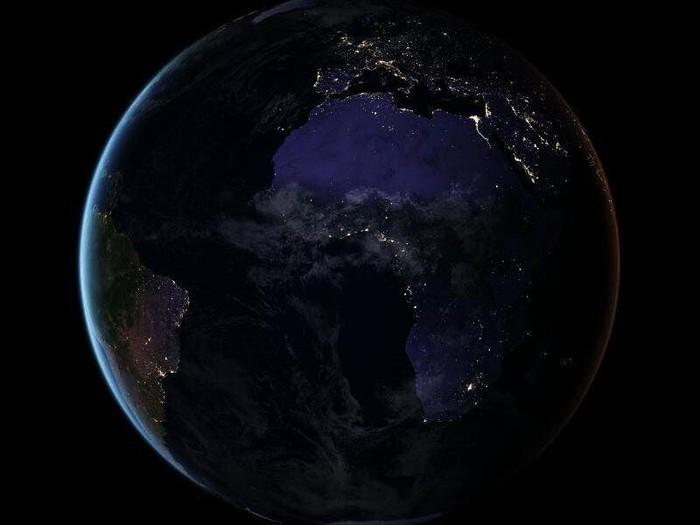 bumi saat malam