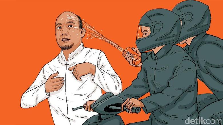 Polisi Bawa Sketsa Wajah Pelaku ke Novel, KPK: Tunggu Izin Dokter