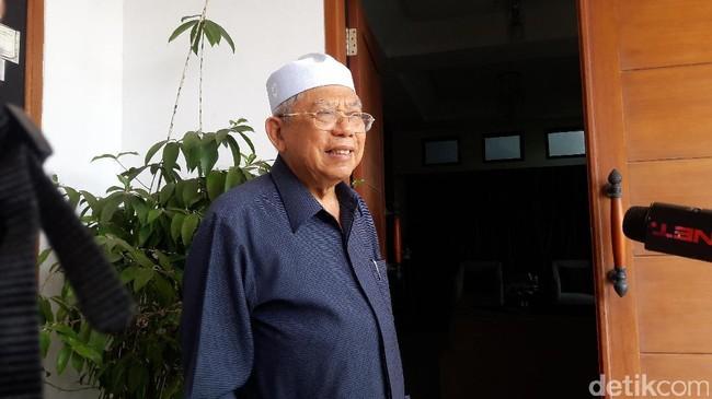 Maruf Amin. Foto: Cici Marlina Rahayu/detikcom