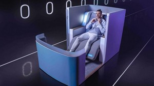 Inikah Kursi Pesawat Ternyaman di Dunia?