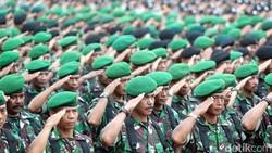 Mutasi Besar di TNI Jelang Panglima Hadi Purnabakti