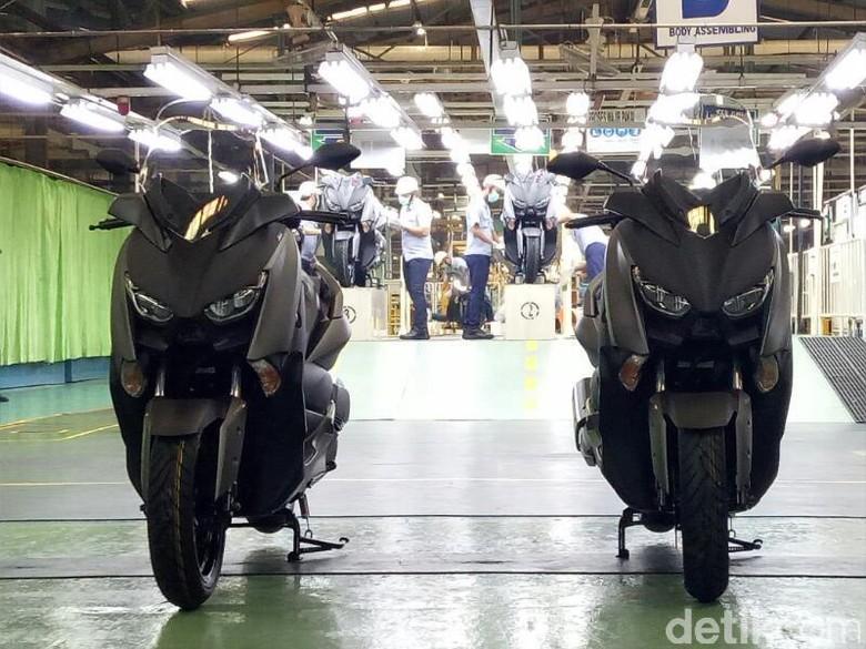 Tak Cuma di Dalam Negeri, Ekspor Motor Juga Naik Foto: Rangga Rahadiansyah