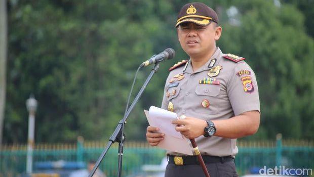 Kapolres Bogor AKBP AM Dicky Pastika Gading