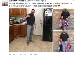 Kisah Ayah Selamatkan Anaknya yang Mengompol Ini Jadi Viral