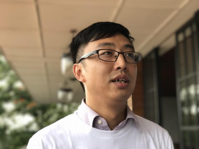Brand Director Vivo Mobile Indonesia Peter Wang (Foto: detikINET/Adi Fida Rahman)