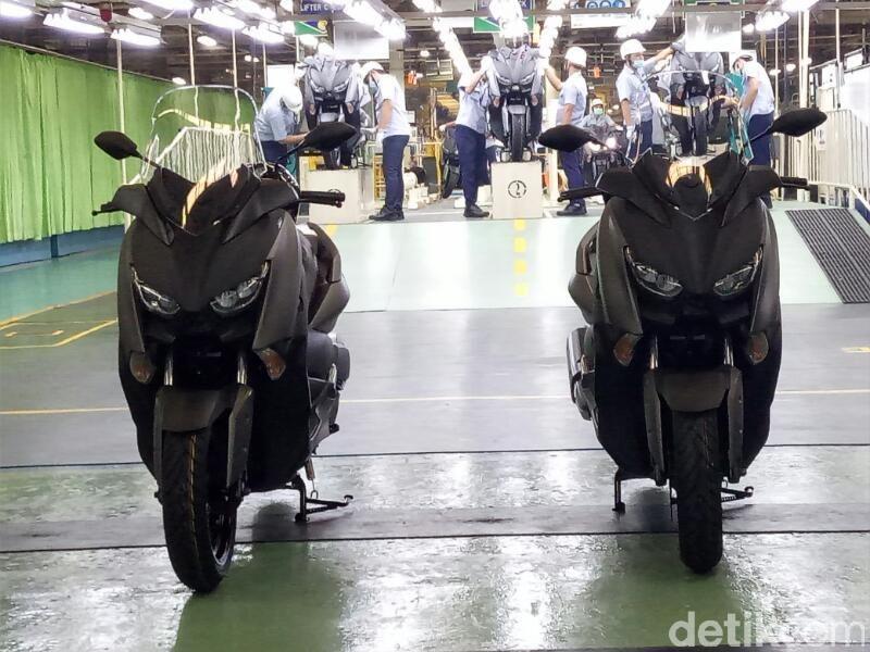 Ilustrasi pabrik Yamaha di Indonesia