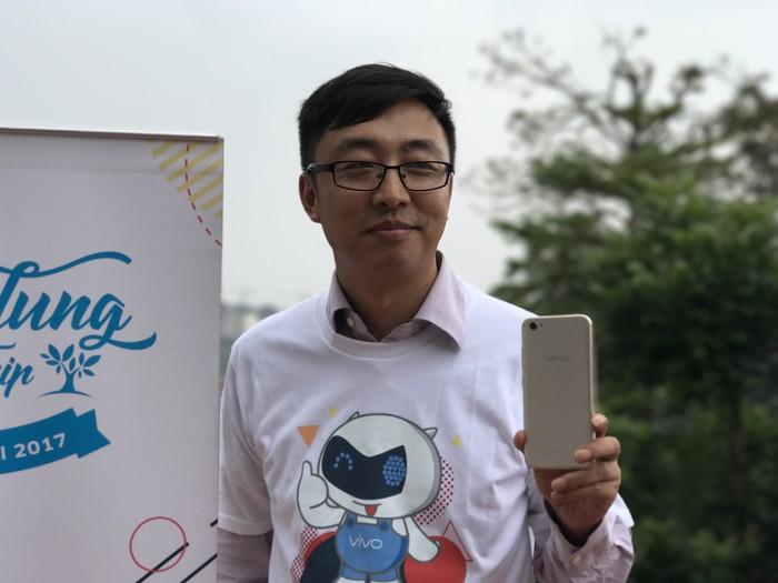 Peter Wang, Brand Director Vivo Mobile Indonesia (Foto: detikINET/Adi Fida Rahman)