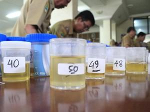 BNN Tes Urine PNS dan Honorer di Pademangan, 3 Orang Positif Sabu