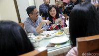 Usai Nyoblos, Djarot Makan Bersama Keluarga