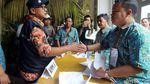 Ketua KPU Arief Budiman Tinjau Pencoblosan