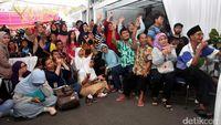 Meriahnya Proses Penghitungan Suara di TPS Anies