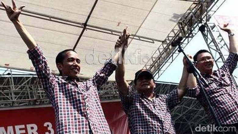 TKN ke Gerindra: Prabowo yang Bilang Jokowi Cari Biaya Sendiri di Pilgub DKI