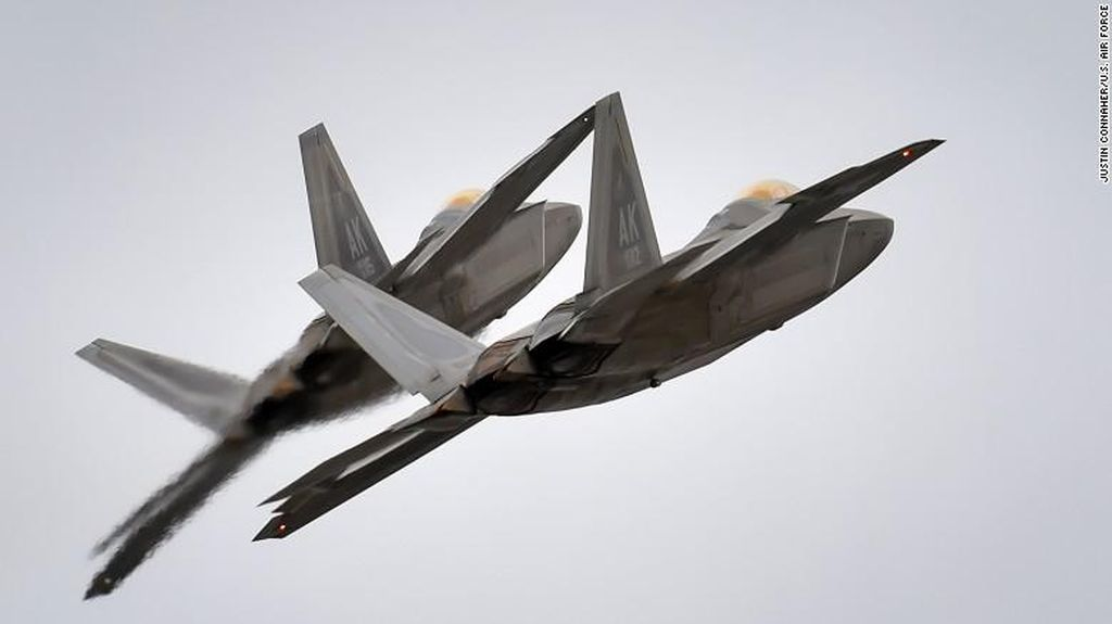 Jet Tempur AS Jatuh ke Laut di Okinawa Jepang, 2 Orang Selamat