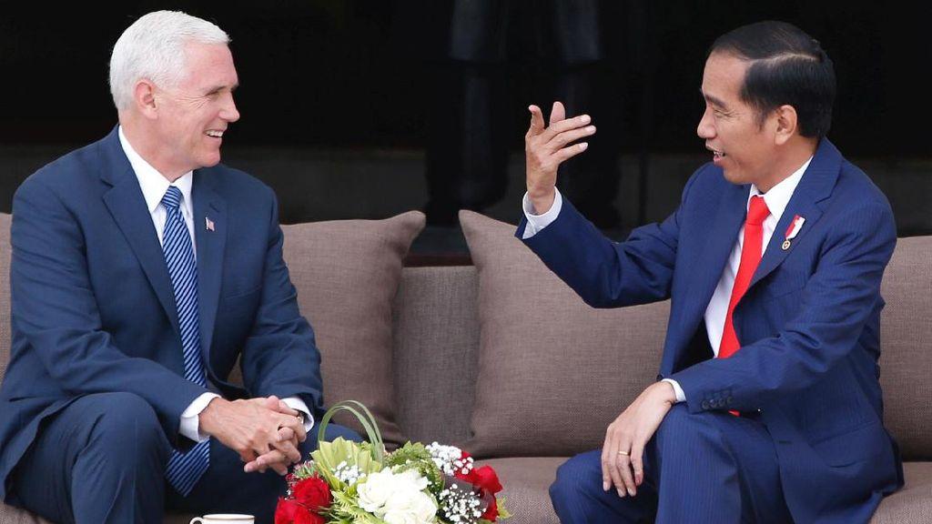 Jokowi dan Wapres AS Sempat Bicara Soal Freeport