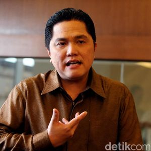 Puji Syukur Erick Thohir Usai Sri Mulyani Bayar Utang ke BUMN
