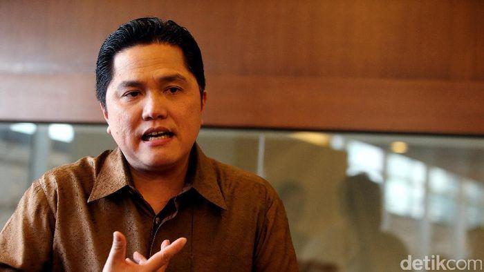Menteri Badan Usaha Milik Negara (BUMN) Erick Thohir/Foto: Rengga Sancaya
