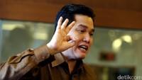 Erick Thohir Tertawa, Cucu Usaha Garuda Namanya Garuda Tauberes Indonesia
