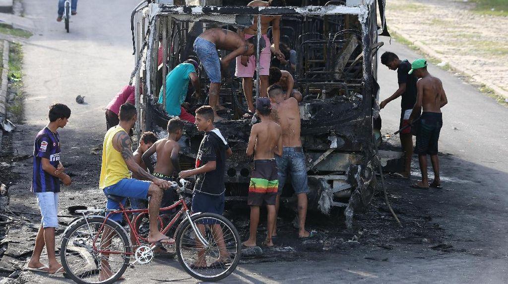 300 Pasukan Nasional Dikerahkan ke Fortaleza