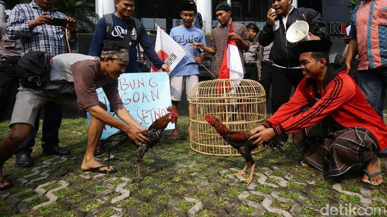 Politik dan Sabung Ayam