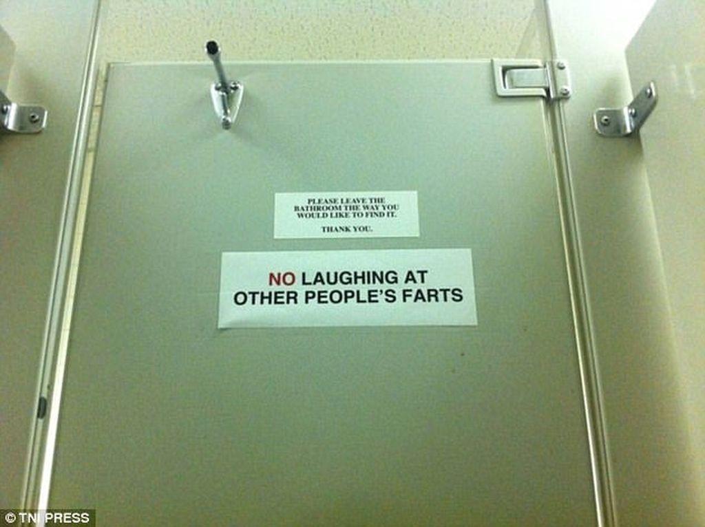 Jangan tertawa kalau orang lain buang angin! Foto: istimewa
