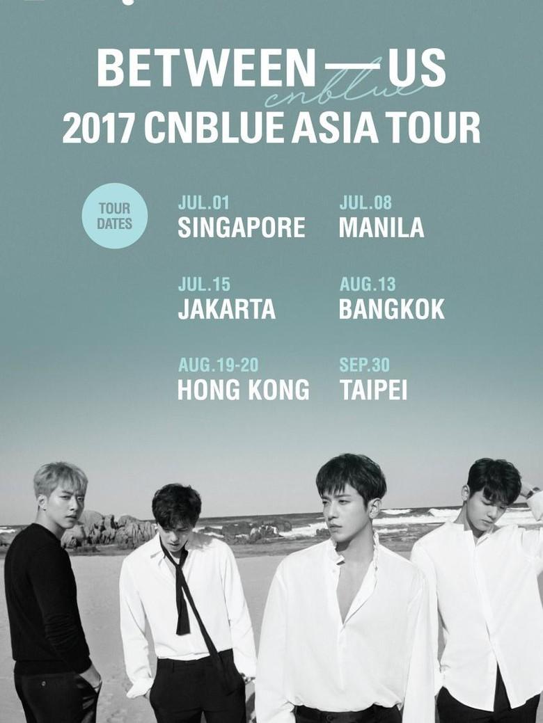 Hore! CNBLUE Gelar Konser di Jakarta 15 Juli