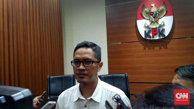 Juru bicara KPK Febri DIansyah, di Jakarta, beberapa waktu lalu.