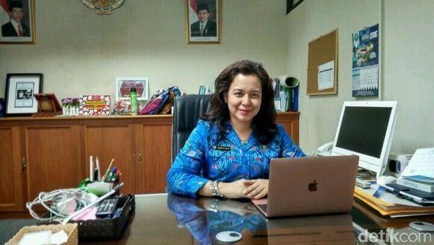 Kepala BNN Kota Jaksel Amrita Devi